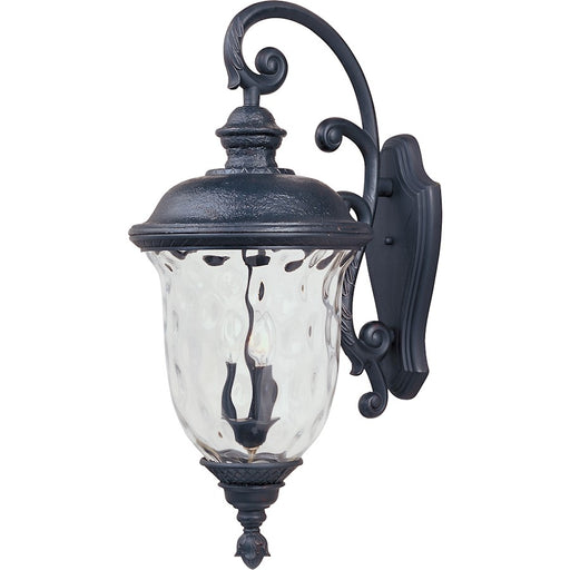 Maxim Carriage House DC 3-Light Outdoor Wall Lantern, Bronze