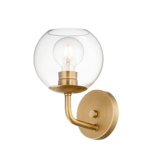 Maxim Lighting Branch Wall Sconce, Natural Aged Brass
