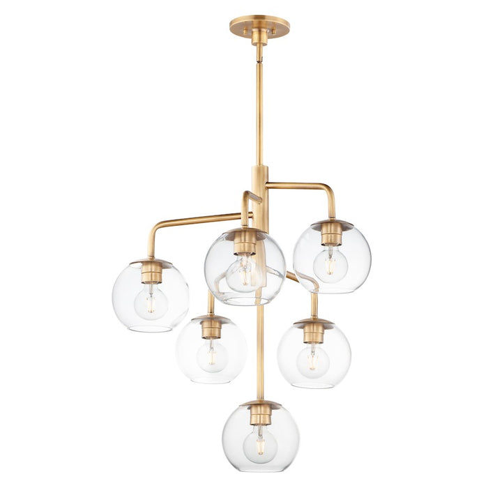 Maxim Lighting Branch Pendant, Natural Aged Brass