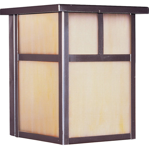 Maxim Coldwater Outdoor Wall Lantern, Burnished