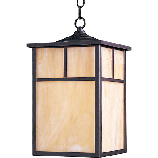 Maxim Coldwater 1-Light Outdoor Hanging Lantern, Burnished