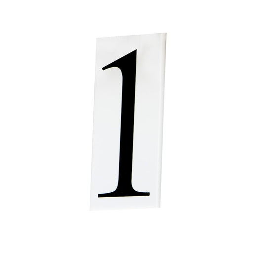 Maxim Lighting House Number, White