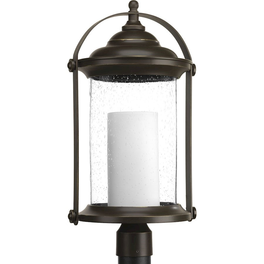 Progress Lighting Whitacre Post Lantern, Antique Bronze