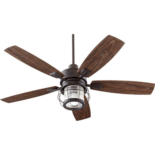 Quorum Galveston 1 Light Ceiling Fan