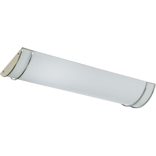"Quorum 4 Light 16"" Ceiling Mount, Satin Nickel"