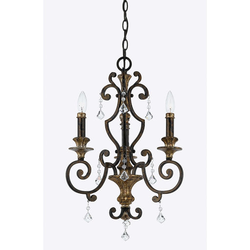 Quoizel Marquette Chandelier, Heirloom