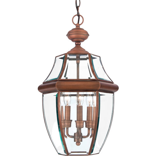 Quoizel 3 Light Newbury Outdoor Pendant