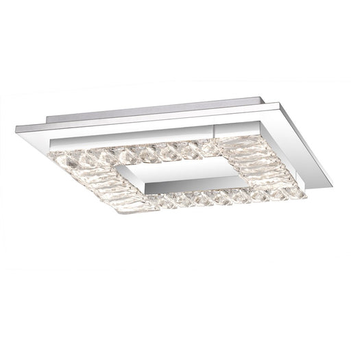 Quoizel Passion Light Flush Mount, Polished Chrome