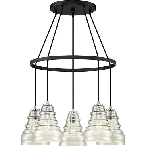 Quoizel Prophecy Chandelier, Earth Black