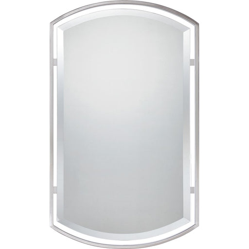 Quoizel Mirror, Brushed Nickel