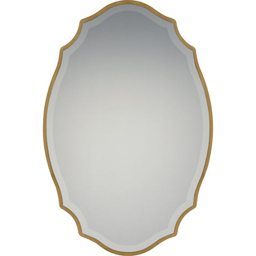 Quoizel Monarch Mirror, Gold