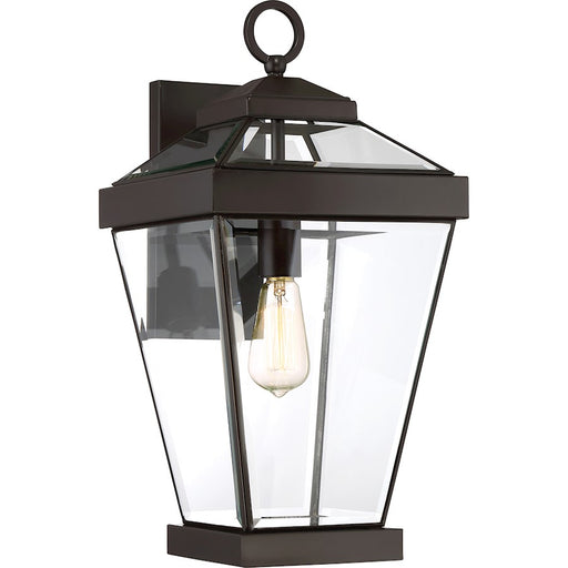 Quoizel Ravine 1 Light Large Outdoor Wall Lantern, Western Bronze