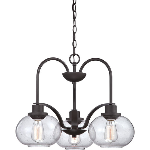 Quoizel Trilogy Chandelier, Old Bronze