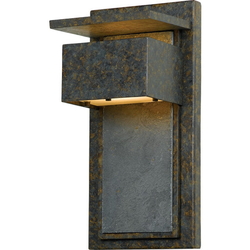 Quoizel 1 Light Zephyr Outdoor Wall Lantern, Muted Bronze