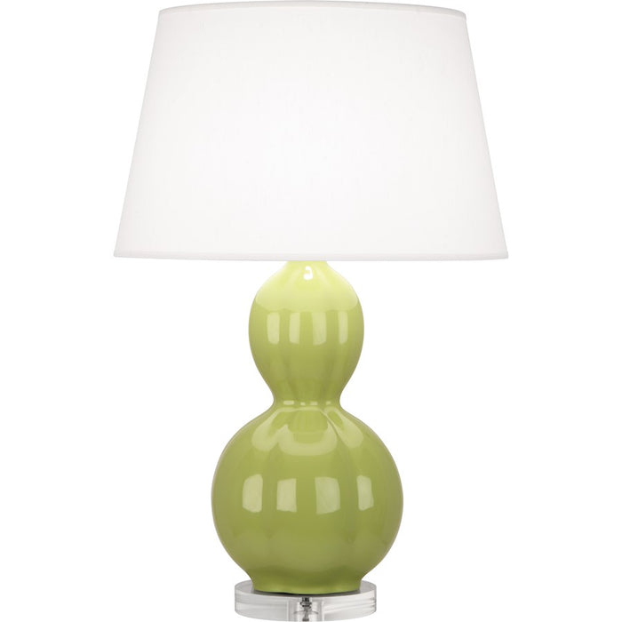 Robert Abbey Williamsburg Randolph Table Lamp, Chartreuse/Lucite - PG997