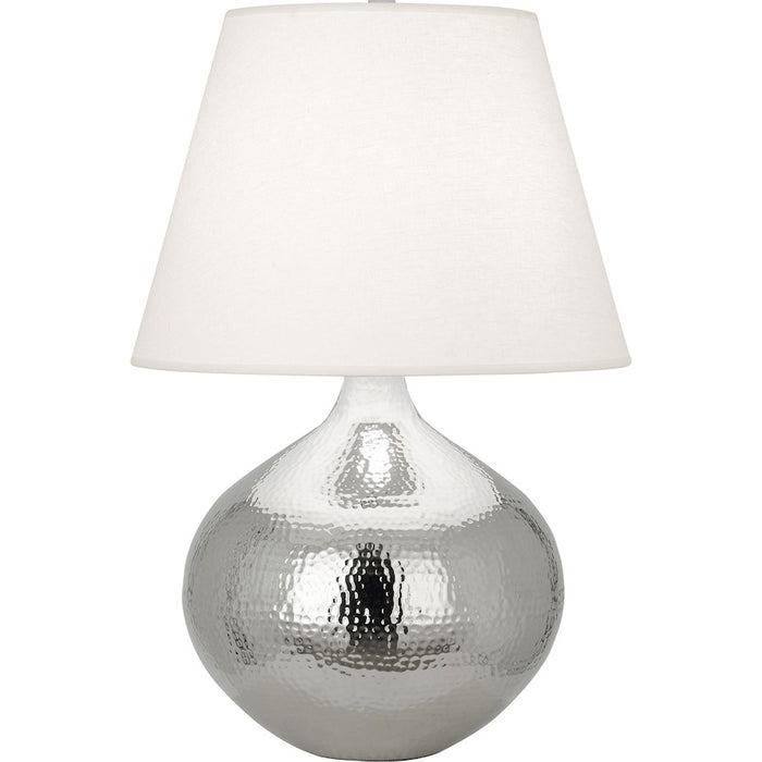 "Robert Abbey Dal 1 Light 27"" Table Lamp, Polished Nickel - S9871"