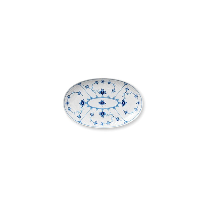 Royal Copenhagen Blue Fluted Pla in Oval Accent Dish