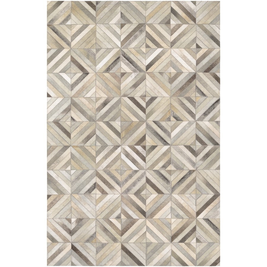 Couristan Chalet Blocks Ivory Area Rug