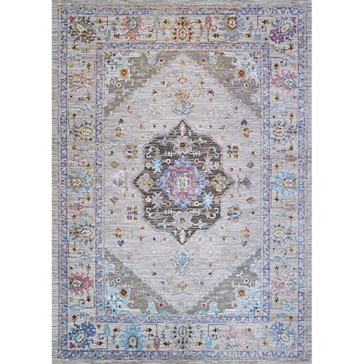 "Couristan Gypsy Safavid Runner, Bone-Mocha, 2'3"" x 7'6"""