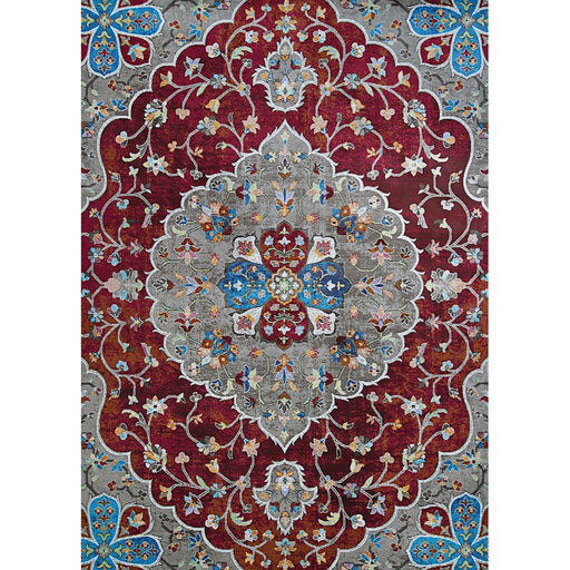 "Couristan Gypsy Hafiz Runner, Antique Red, 2'3"" x 7'6"""