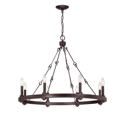 Savoy House Adria Chandelier English Bronze