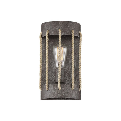Savoy House Leland 1 Light Wall Sconce, Artisan Rust