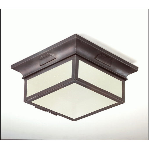 Troy Lighting Newton 2 Light Flush, Old Bronze