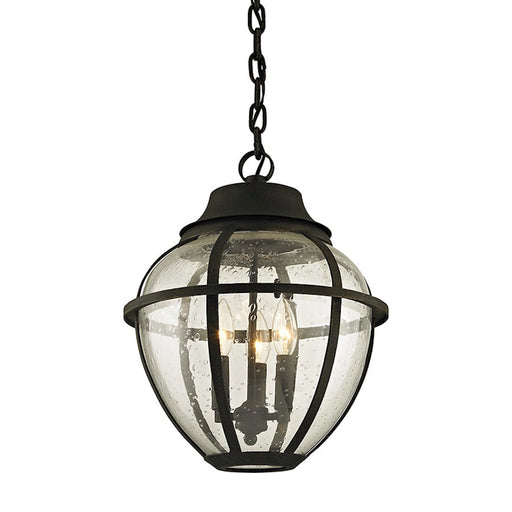 Troy Lighting Bunker Hill 3 Light Hanger, Bronze