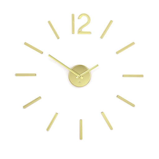 Umbra Blink Clock, Brass