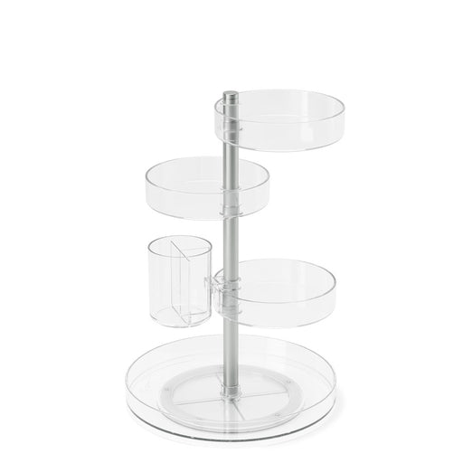 Umbra Pirouette Organizer, Clear/Nickel - 1015097-239