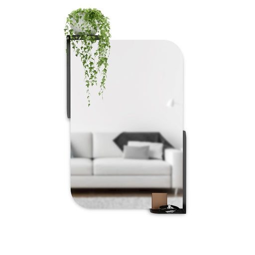 Umbra Alcove Mirror 30X20, Black - 1015726-040