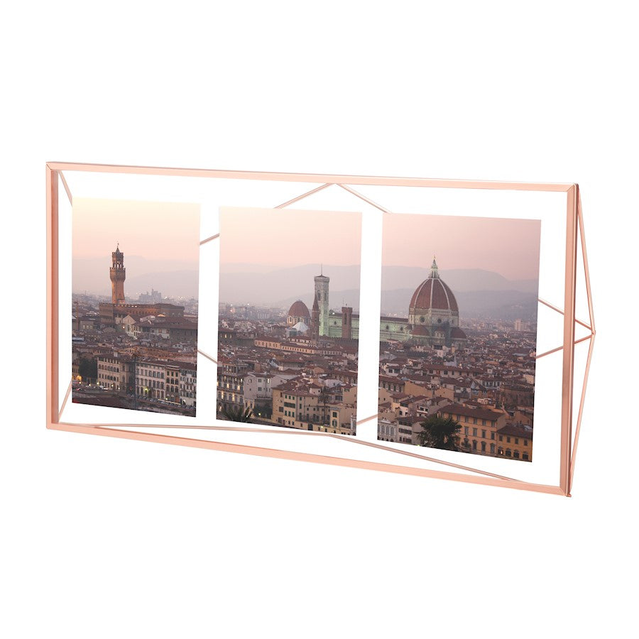 Umbra Prisma Photo Display, Multi-Colored 3Op, Copper