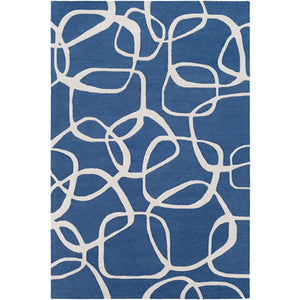 Surya AAI-1000 Amarion Area Rug in Navy/Light Gray