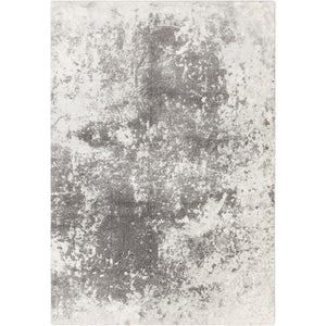Surya ABE-8013 Aberdine Area Rug in Medium Gray/Charcoal