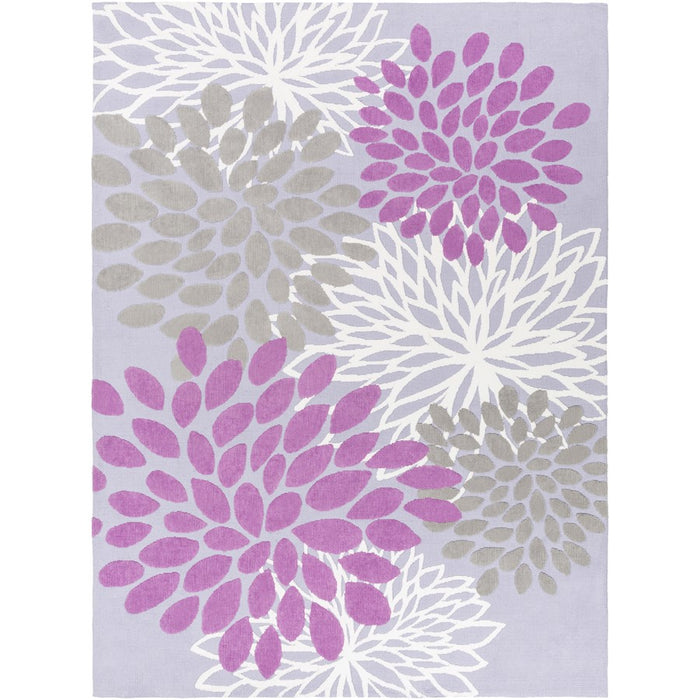 Surya ABI-9055 Abigail Kids Rug in Bright Purple/Lavender