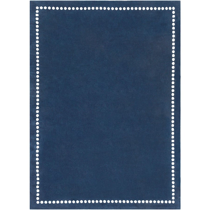 Surya ABI-9074 Abigail Kids Rug in Bright in Navy/Cream