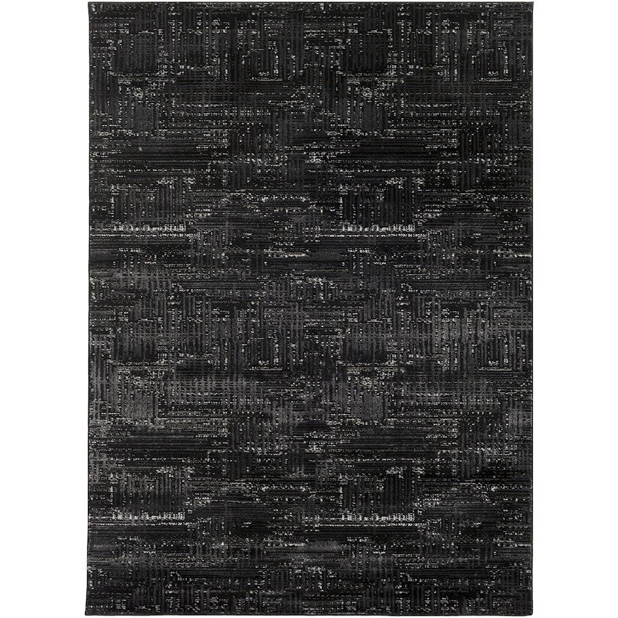 Surya ADO-1016 Amadeo Area Rug in Black/Light Gray