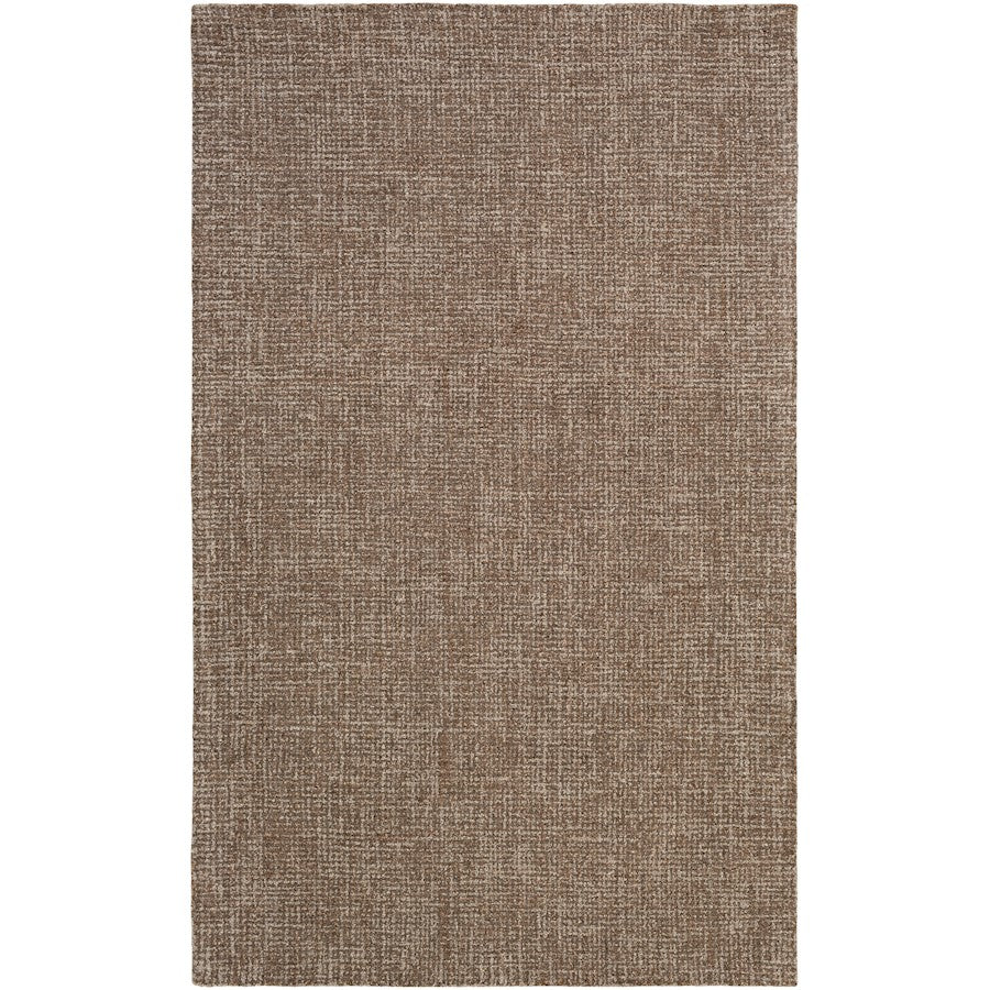 Surya AEN-1006 Aiden Area Rug in Dark Brown/Light Gray