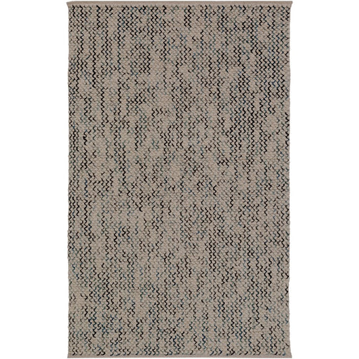 Surya AER-1003 Avera Area Rug in Camel/Pale Blue