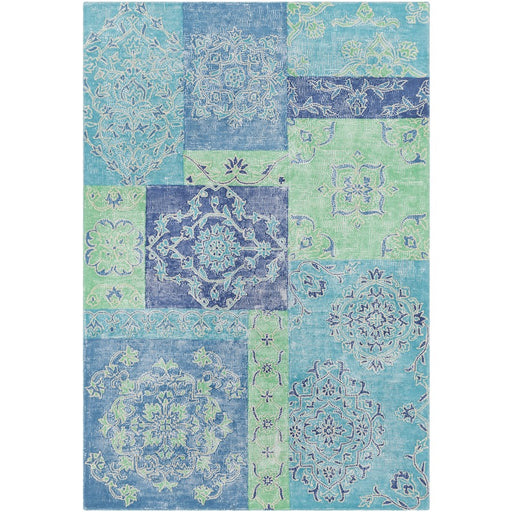 Surya AGA-1003 Antigua Area Rug in Denim/Teal