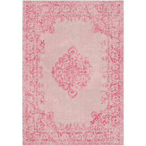 Surya AMS-1005 Amsterdam Area Rug in Bright Pink/Blush