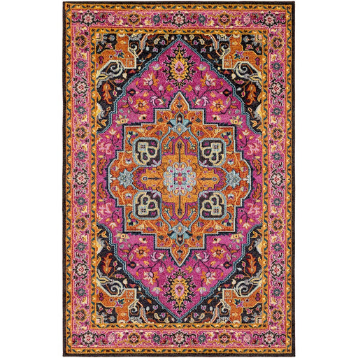 Surya ANI-1001 Anika Area Rug in Bright Pink/Bright Red