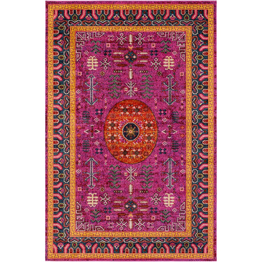 Surya ANI-1004 Anika Area Rug in Bright Pink/Bright Red