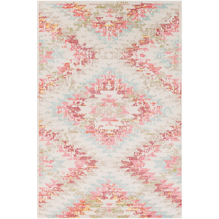 Surya ANI-1025 Anika Area Rug in White/Beige/Black