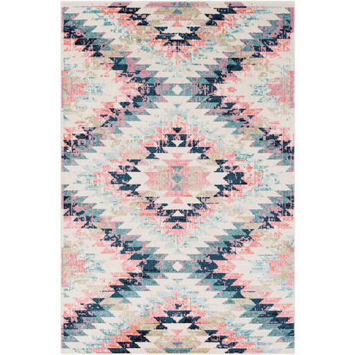 Surya ANI-1025 Anika Area Rug in White/Beige/Camel