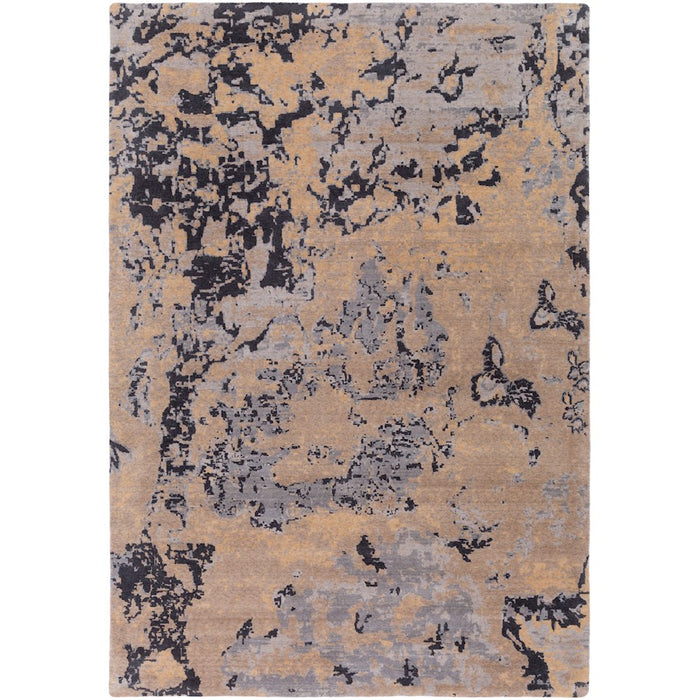 Surya ANM-1004 Andromeda Area Rug in Taupe/Camel