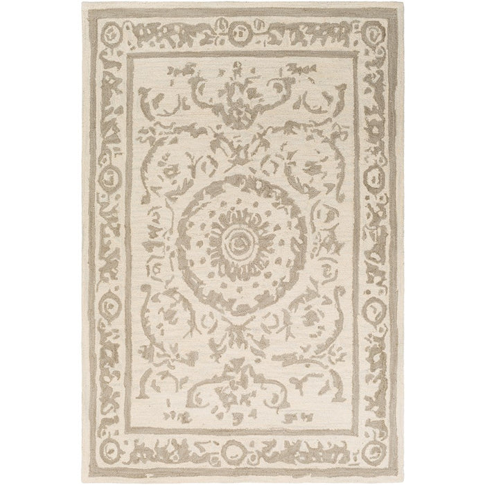 Surya ARM-1003 Armelle Area Rug in Taupe/Cream