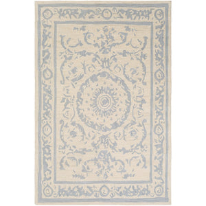 Surya ARM-1003 Armelle Area Rug in Medium Gray/Cream
