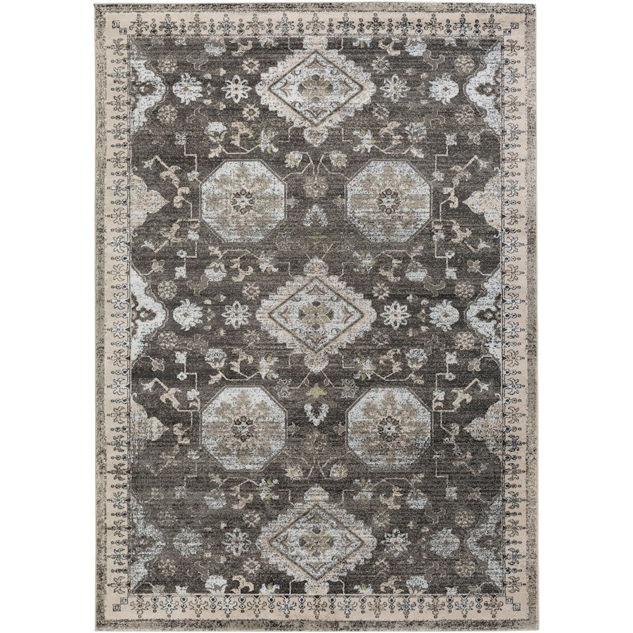 Surya ARO-1004 Allegro Area Rug in Ivory/Medium Gray