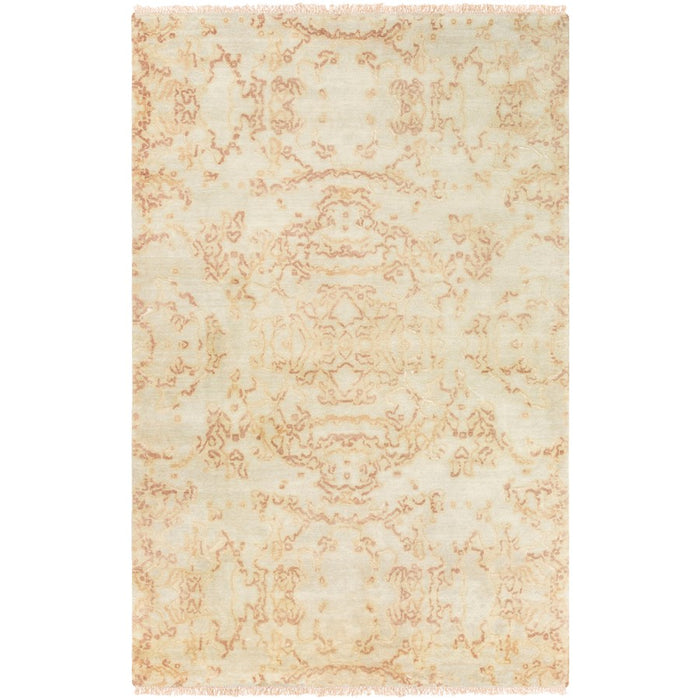 Surya ASC-1000 Atmospheric Area Rug in Khaki/Rose